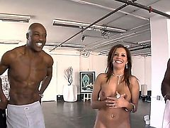 Wesley Pipes gets her ass way stretched by Rico Strongs erect meat pole