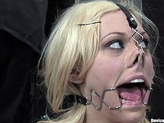 A Hot Bondage Scene With A Gorgeous Blonde
