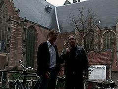 Horny dude Bennie from Denmark goes to the brothel to be teased by real filth