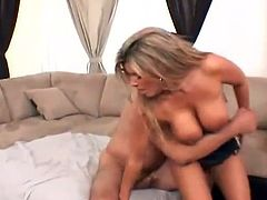 Smut milf not far from giant bust having xxx