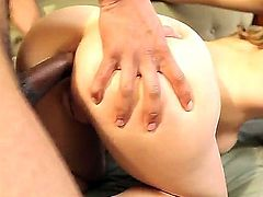 Audrey Rose and Bobbi Starr fucking in wild and nasty threesome pron action