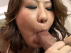 Firsky Japanese amateur Ai Yuumi gets her bearded cunt tongue fucked
