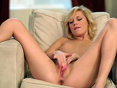 Masturbation adventures of heavenly beautiful blondie Hayden Hawkens