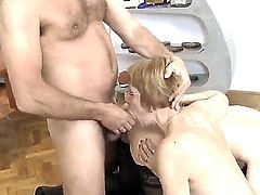 Rocco Siffredi decided to make this day really hot. He invited his neighbourhood mature lady and she came with her sisters daughter for a wild anal adventure.