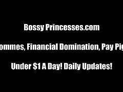 Compilation of bossy princess mistresses ready to blow your cover with your wife and tell all the naughty things you've been doing if you don't cough of the money.
