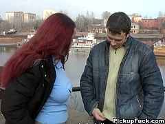She is dirty student who loves sucking cocks in public place. So she gets on her knees taking solid prick of this horny dude sucking deepthroat.