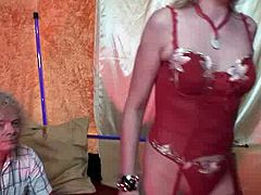 Spoiled tourist Rolf from Sweden visits sex shop and brothel to be pleased by whore