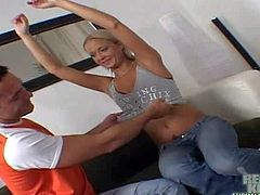 Renato enjoys in Seducing two arousing babes, Lulu and her friend, and taking them in his apartment for a hot threesome sex session, recorded by his cam in the room