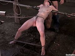 Jada Fire and her white friend are going to get dominated in this bondage session packed with rough hardcore sex.