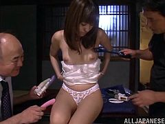THere was a great temptation to stick a cock in her twat, but that is a Japanese discipline! They limit themselves with toys, making Rina Rukawa stun hard!
