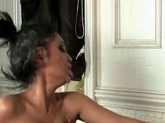 The girl is incredibly beautiful having big boobs and gorgeous body shape. She is fucking passionately in interracial porn clip. This hottie gets screwed hardcore in various position. In my opinion this video is must watch one.