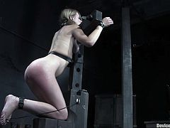 A couple of totally hot bitches get put through a series of bondage devices in this kinky bdsm extreme scene, check it out right here!