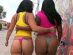 Violet Vasquez with round butt has some time to get some pleasure with lesbian Egypt
