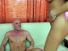 Lizz Tayler is curious about fucking with horny dude Johnny Sins