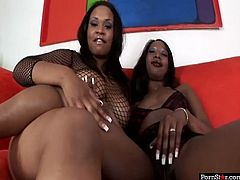 Welcome to the world of sexy botty black lesbians with Pornstar sex clip. Zealous smiling ebony chicks with rounded asses and nice boobs are ready for delight. Happy bitches bend over, cuz it's time to tease and tickle each other's wet cunts.