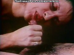 Very nasty vintage hardcore porn movie with lots of hairy pussy licking and tight anal fucking in threesome style.Watch these two hot and naughty babes fucking good with big fat vintage cock.