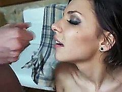Teen gets fucked by several men in the ass