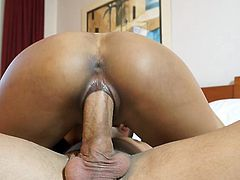 Rachel Woods feels amazing with this large penis drilling her pussy so fine in hardcore