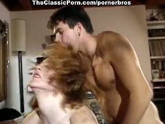 Make sure you check out this hot vintage threesome action! Two busty chicks are receiving anal pleasure from a lucky dude with fat cock!