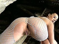 Tiffany Doll lets Kid Jamaica fuck her pussy