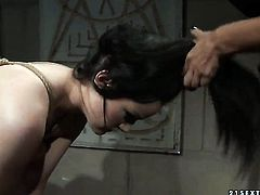 Brunette with big jugs learns more about lesbian sex from her lesbian lover Mandy Bright