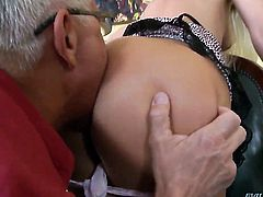 Christoph Clark has unforgettable oral sex with Andrea Francis after she takes it in her butthole