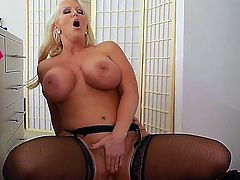 Alura Jenson gets fucked pretty hard by a horny guy named Johnny Castle. He really want to destroy her pussy with his hard dick. Alura Jenson loves all of his hardcore skills.