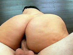 Angelina Castro with big knockers cant live a day without getting fucked by horny dude Ralph Long
