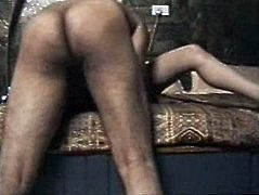 The bunk bed creaks and spoiled amateur Indian gal moans loudly of delight, cuz her wet pussy gets banged missionary by horny BF. Dirty-minded booty whore orders him to eat her juicy cunt to gain her dose of delight.