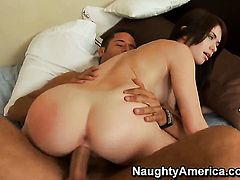 Ashlyn Rae spends time fucking with hard cocked fuck buddy Danny Mountain