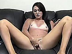 Gorgeous brunette uk slim slut fucke
