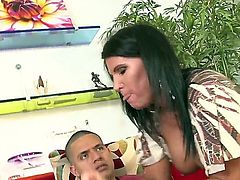 Kendra Secrets doesnt mind taking hard snake in her bum hole