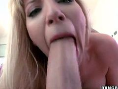 Blowjob and amazing cock riding with Ashley Fires