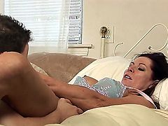 Wolf Hudson gets pleasure from fucking Magdalene St. Michaels in her sweet mouth