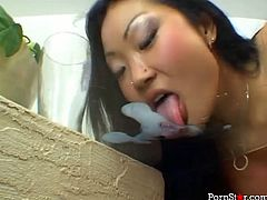 Pornstar xxx clip provides you with a great compilation of hot brunettes. All the gals can boast of nice rounded butts and natural tits. All the chicks, black, white and Asian are the way too addicted to cum and love giving solid blowjobs. Mish or cock riding won't be the least things to reach orgasm in a flash.