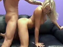 Busty blonde shawna gets caught