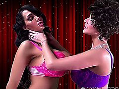 Amy Anderssen & Joslyn James - Getting To Know You Part_2
