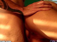 Darcy Tyler needs a checkup and Flexx Boola is there to check her out with his rippling muscles and fat cock! Wanna see?