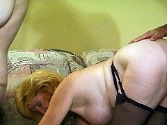 Watch two sexy matures going lesbo before three men arrive and set the party on fire. See the sexy blonde and the vicious brunette getting their clams and mouths banged deep and hard into breathtaking orgasms.