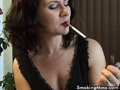 You've found the hottest smoking fetish babe here. It's been said by many I