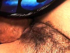 Cheating amateur blonde milf Joclyn Stone with big tits and huge round ass gets her hairy cunt boned deep by famous fat porstar Ron Jeremy with fat monster cock.