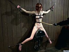 Jay Taylor is the girl getting toyed and tortured in this wild BDSM video packed with bondage and more kinky action.