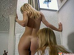 Damn, folks this video is must watch. Sizzling blond hotties with fresh bodies are playing kinky and naughty in lesbian sex action. Watch them stripping seductively and pussy licking in a hot sex scene.