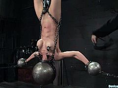 Tia Ling loves bondage and in this hot video you'll see her having just that as she's tortured and humiliated as well as being pleased.
