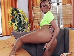 Ashley Bulgari cant live a day without touching her snatch