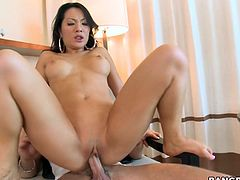 The unparalleled Asian whore Asa Akira teams up with some other slut to make this fucking dude go ballistic in a hot fucking three-way.
