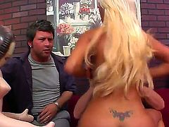 Evan Stone and Nikita Von James threesome