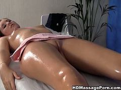 His fingers penetrates her pussy and makes hie moan with pleasure. He finger fucks her pussy and she sucks his dick. Enjoy hot massage sex tube video from WTF Pass porn site.