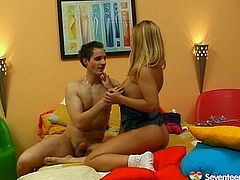 Gosh, dude, don't be a dull one and gain lots of pleasure along with incredibly hot Seventeen Video xxx clip. Appetizing booty blond teen goes nuts about a tough doggy fuck. But it's just the beginning cuz amazing cutie desires to ride a strong big dick for multiple orgasm.