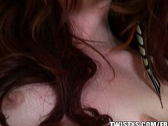 Elle Alexandra is a skinny redhead with a great body. She plays with herself and herself a lot, but she also likes girls.